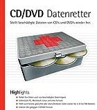 CD/CDV Datenretter, CD-ROM Stellt beschädigte Dateien von CDs und DVDs wieder her. Für Windows...