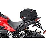 QBag Motorrad-Hecktasche Hecktasche Motorrad 03, Motorradgepäck für Soziussitz/Gepäckträger,...