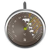 WMF Bratenthermometer Scala Grillthermometer Steakthermometer mit Markierung der empfohlenen...