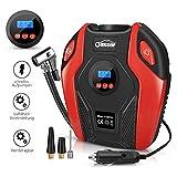 oasser Auto-Luftpumpe Reifen Inflator Kompressor Digital Portable mit LCD Bildschirm 12V DC 150PSI...