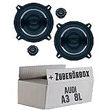 Audi A3 8L - Lautsprecher Boxen Mac Audio MPE 2.13-13cm System Auto Einbausatz - Einbauset
