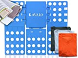Premium Faltbrett für Kleidung + Gratis Wäschenetz von KAVALO im Set - Der robuste Wäschefalter...