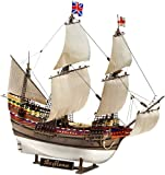 Revell Modellbausatz Schiff 1:83 - Pilgrim Ship MAYFLOWER im Maßstab 1:83, Level 5, originalgetreue...
