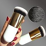 Hrph New Chubby Pier Foundation Pinsel Flach Creme Make-up Pinsel professionellen Kosmetik Make-up...