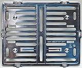 Motorrad Kennzeichenhalter Easy Chrom frameless 170x210mm chrom - für österreichische Kennzeichen
