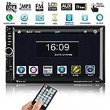 CATUO Autoradio mit Navigation 7 Zoll HD Touchscreen Auto Radio MP5 Spieler mit GPS Navigation und...