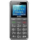 AEG Voxtel M250 Senioren-Handy mit großen Tasten und ohne Vertrag | Mit Notruf-Knopf und...