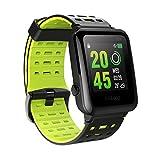 HR Sport GPS Smartwatch, OMORC Sportuhr Laufuhr Fitness Activity Tracker Herzfrequenz Schlaf Monitor...