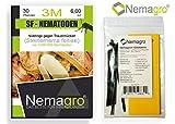 Nemagro® Kombipack - SF Nematoden 3M + Gelbtafeln (3mio 30 Pflanzen oder 6qm) - Ihre Erste Wahl...