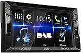 JVC KW-V235DBT DAB+ / DVD-/CD-/USB-Receiver mit integrierter Bluetooth-Technologie und 15,7 cm (6,2...