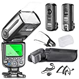 Neewer NW565EX iTTL Slave Blitz Kit für Nikon DSLRKamera