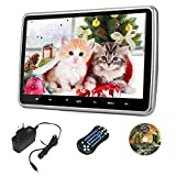 10.1 Inch HD Digital und Breitbildschirm, Super-Dünn Auto Kopfstütze, DVD Spieler mit USB und SD,...