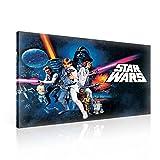 Star Wars Neue Hoffnung Leinwand Bilder (PPD729O1FW) - Wallsticker Warehouse - Size O1 - 100cm x...