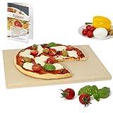 Amazy Pizzastein – Verleiht Ihrer Pizza den original italienischen Geschmack knusprig-zarter...