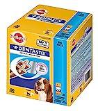 Pedigree DentaStix Hundeleckerli für mittelgroße Hunde, Kausnack mit Huhn- und Rindgeschmack gegen...