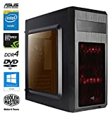 SNOGARD GAMERS CHOICE Gaming PC - Intel Core i5-7500 4x3400Mhz Quad-Core Processor, 8GB DDR4 Memory,...