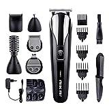 Haarschneider Herren elektrisch Haarschneidemaschine 6 in 1 Multigrooming-Set mit Barttrimmer,...