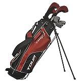 Dunlop Tour Red Golfset Graphit/Stahl 16-tlg. Linkshand