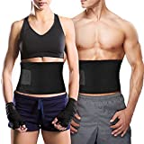 Bauchweggürtel TOPELEK Hot Belt Rückenbandage für Damen und Herren Bauchgürtel für einfaches...