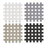 Zeller 27232 Silikon Topf-Untersetzer Set 4-teilig, 17 x 17 cm, hitzebeständig und rutschfest,...