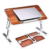 [2 Jahre Garantie] Avantree Verstellbarer Bett Tablett Laptop Betttisch, Tragbarer Laptoptisch...