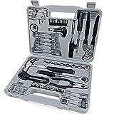 Deuba® Werkzeugset 141 tlg Werkzeugkoffer Werkzeugkiste Werkzeug Set Werkzeug Werkzeugkasten...