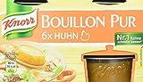 Knorr Bouillon Pur Huhn Brühe, 6 x 500 ml, 4er Pack