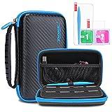 KINGTOP Nintendo 2DS / 3DS Hard Case Tasche Anti-Shock Schutzhülle für NEW Nintendo 2DS / 3DS XL /...