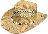 Cowboy Hut | Sommerhut | Strohhut Farbe Seashell
