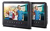 Odys Seal 7 Pro tragbarer DVD-Player (mit zusätzlichem Bildschirm, (17,8 cm (7 Zoll) Digitales...
