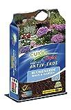 Cuxin Zimmerpflanzenerde 10-80 L  Blumenerde für Zimmerpflanzen und Palmen  100 Tage Dünger (10 l)