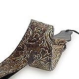 Mugig Gitarrengurt einstellbare Länge 95-157cm Tragegurt aus PU Leder für Konzertgitarre...