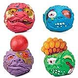 Horror Head Stressball - Horror Kopf Antistressball Knautschball Knetball