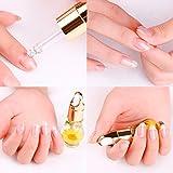 ESAILQ 1 PCS Mix Geschmack getrocknete Blumen Nagelhaut Öl Stift Nail Art Pflege Behandlung...