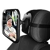 L&HM Rückspiegel/Auto Baby Spiegel drehbar, Kinder Beobachtungsspiegel/Kinderspiegel für...