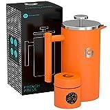 FRENCH PRESS / KAFFEEBEREITER / TEEBEREITER 1 Liter von Coffee Gator - Doppelwandige Französische...