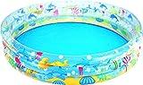 Bestway - Deep Dive 3-Ring Pool, Planschbecken 152 x 30 cm