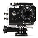 Action Cam, icefox 2K 16MP Unterwasserkamera, WIFI Fernbedienung, 2.0 Display Helmkamera,...