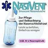 Nasivent Sinuscare - Nasendusche Starter Set inkl. 10 Beutel Nasenspülsalz - Zur Pflege und...