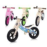 Baby Vivo Laufrad Kinderlaufrad Kinder Fahrrad Lauflernrad Balance Bike mit 12 Zoll Rädern Blumen...
