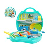 Küchen Spielzeug Set Küche Kochen Spielzeug Kleinkinder Rollenspiele Spielzeug für Partyspiele...
