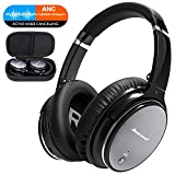 Bluetooth Wireless Kopfhörer Noise Cancelling - Hiearcool L1 HiFi Stereo Drahtlose Headset Over Ear...