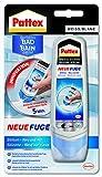 Pattex Neue Fuge - Silikon neu auf alt / Flüssige Fugenmasse - ideal für schmalere Fugen geeignet...