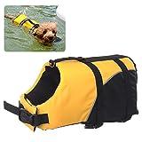 REXSONN Float Coat Hundeschwimmweste Schwimmweste Hunderettungsweste Rettungsweste Hundeweste...