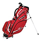 Nexus II Stand Bag Mens Golf Carry Bag 5-Way Divider Red/White
