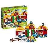 Lego 10525 Duplo Großer Bauernhof, Kleinkinder-Spielzeug, große Bausteine