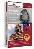 Französisch-Komplettpaket: Lernstufen A1 bis C2. Fließend Französisch lernen mit der...