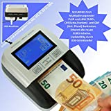 Geldscheinprüfer Multiwährungtester Securpro Plus Banknotenprüfer Banknotentester...