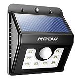 Mpow® 8LED Solar Licht Sicherheit Beleuchtung Bewegungsmelder-in Wasserdicht Solar-Leuchten...