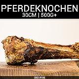 Pferdeknochen - 1Stk.   ca.35cm 500g+   Hohe Qualität   Kausnack   Hunde   Allergiker  ...